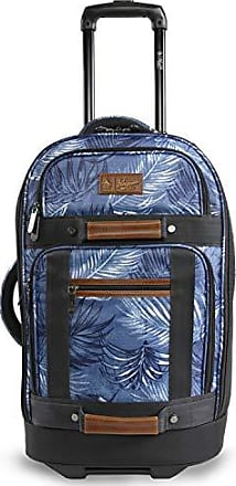ORIGINAL PENGUIN Weekender Duffel Luggage Bag for Men One Size Black//Grey Crosshatch