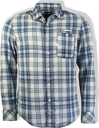G-Star Indigo White Check Bristum 1 Slim Shirt - medium