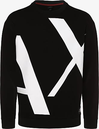 A|X Armani Exchange Herren Sweatshirt schwarz
