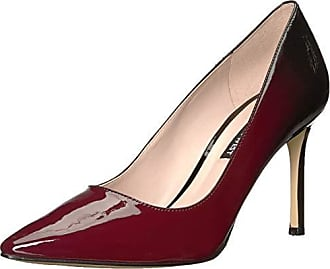 Nine West Womens EMMALA Synthetic Pump, Wine Black, 8.5 M US