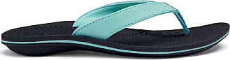 Olukai Ohana Sandal - Womens Sea Glass/Black 8