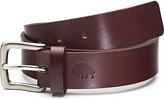 Ezra Arthur No. 1 Belt | Burgundy/Nickel Buckle | 30
