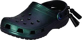 Crocs Shoes - Classic Festival Clog Black Iridescent, Size:7/8 UK