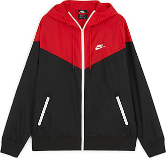 online store 32671 5c70b Nike WINDRUNNER JACKET HD NIKE NOIR ROUGE L HOMME NIKE NOIR ROUGE L HOMME