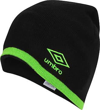 Umbro TIPPING BEANIE - BLACK/GREEN