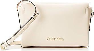 3bcf0a27c Calvin Klein Avant Ew Crossbody, Bolsos bandolera Mujer, Gris (Light Sand),