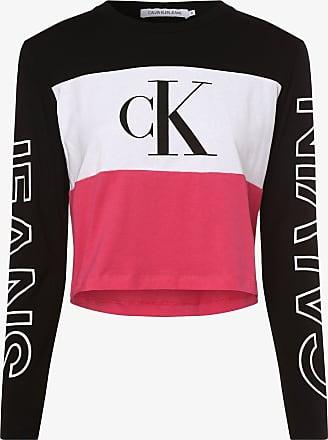 Calvin Klein Jeans Damen Langarmshirt rosa
