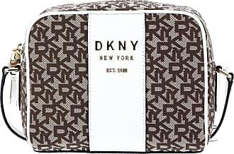 DKNY Noho Crossbody bag brown/white