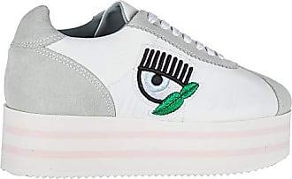 Chiara Ferragni Damenschuhe Turnschuhe Damen Wildleder Schuhe Sneakers Weiß EU  39 CF1715 3b99032607