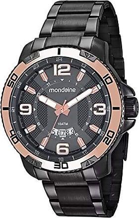 Mondaine Relógio Masculino Mondaine 53679GPMVSS2 - Grafite/Rose