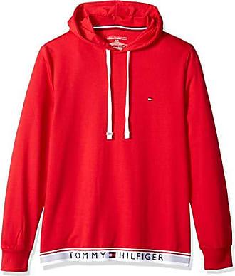 5a37e506 Tommy Hilfiger Mens Modern Essentials Sleepwear Hoodie, Red, Large