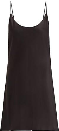 La Perla Semplice Silk-satin Slip Dress - Womens - Black