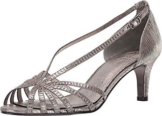Adrianna Papell Womens Judy Heeled Sandal Gunmetal 11 M US
