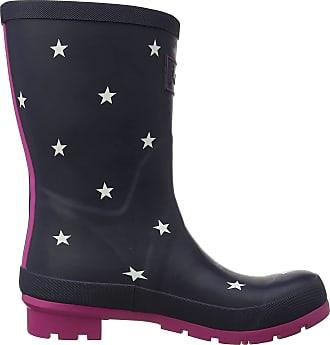 Joules Womens Molly Welly Wellington Boots, Blue (Navy Stripe Exlnvst), 3 UK (36 EU)