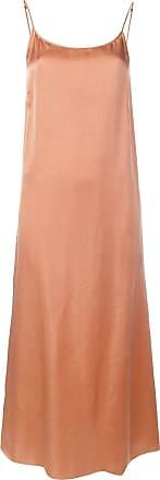 Uma Wang metallic slip dress - Pink