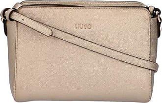 Liu Jo Women Shoulder Bag - S Crossbody, Logo, Uni, 17x22x8cm (HxWxD) (Gold)