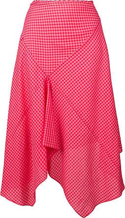 Paul Smith Camisa xadrez assimétrica - Vermelho