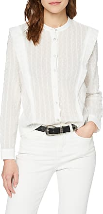 Pepe Jeans London Womens Noelie Blouse, Off-White (Mousse 808), X-Large
