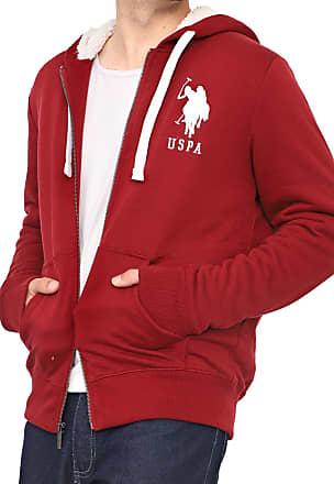 U.S.Polo Association Moletom U.S. Polo Logo Vermelho