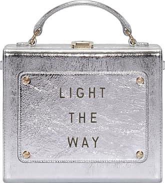 Meli Melo Meli Melo Art Bag Light the way Olivia Steele Silver Bag for Women