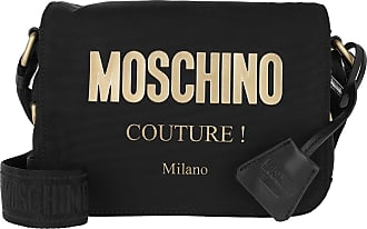Moschino Cross Body Bags - Crossbody Bag Logo Black Fantasy Print - black - Cross Body Bags for ladies