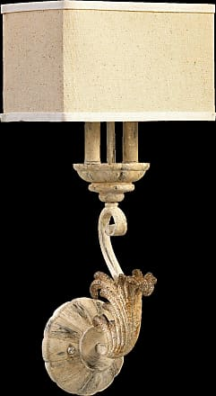 Quorum Florence 2 Light Wall Mount in Persian White