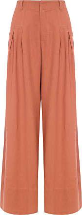 Dress To Calça Pantalona - Marrom