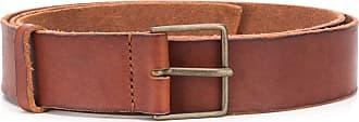 Forte_Forte soft leather buckled belt - Brown