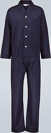 Derek Rose Completo pigiama Nelson in cotone