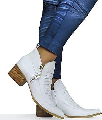 Dina Mirtz Sapato Branco Despojado Dina Mirtz