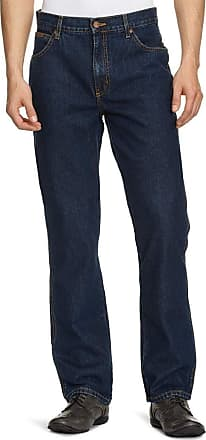 Wrangler Mens Texas Regular Fit Jeans Darkstone Mens 48W x 34L