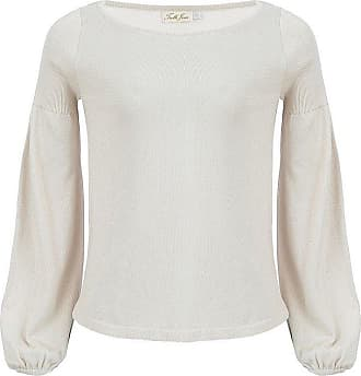 Tulle Jour Blusa Alexis Off White - Mulher - Off-white - M BR