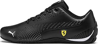 Puma Ferrari Drift Cat 5 Ultra II Sneaker Schuhe | Mit Aucun | Schwarz/Weiß | Größe: 40.5