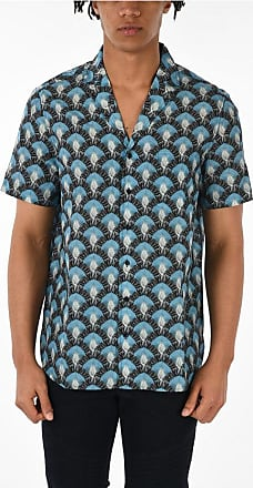 Neil Barrett Short Sleeve Printed Shirt size M