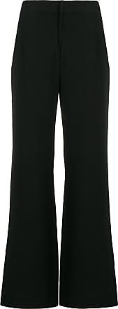 Diane Von Fürstenberg Calça de alfaiataria pantalona - Preto