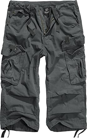 Brandit Mens Basic Cargo Shorts - Brown - XL