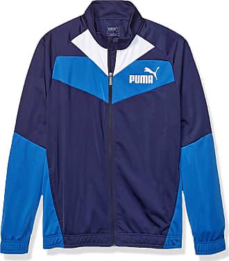 puma blue and white jacket