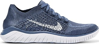 Nike Free Rn 2018 Flyknit Sneakers - Navy
