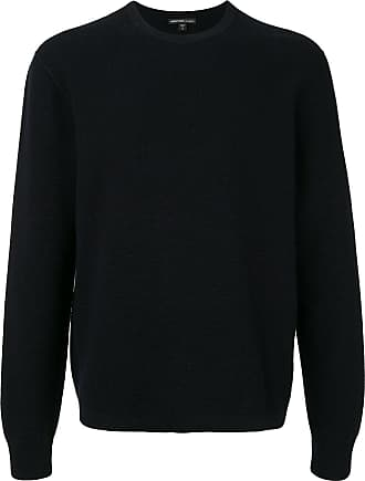 James Perse long sleeve thermal cashmere sweater - Preto