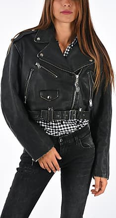 Diesel Leather HELGHEM Jacket size M