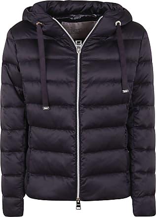 Herno Fashion Woman PI056DR121989300 Black Polyester Down Jacket | Fall Winter 20