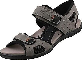 Details zu Rieker Amman Bastia Sandalen Pantoletten Gr.44 Slipper Antistress Schuhe neu