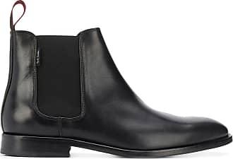 Paul Smith Ankle boot com recortes - Preto