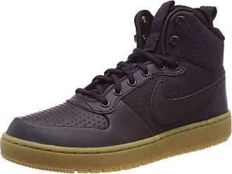 low priced 57df9 675bf Nike Mens Ebernon Mid Winter Basketball Shoes, Blue Burgundy Ash 600, 8 UK