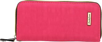 Swankyswans Riley Nylon Womens Zip around Flip Wallet Purse in Fuschia