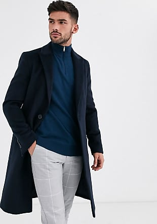 River Island Marineblauer Mantel-Navy
