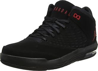 uk availability bfdac 7ed49 Nike Mens Jordan Flight Origin 4 Basketball Shoes Black/Gym Red 002, 10 UK