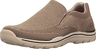 Skechers USA Mens Expected Gomel Slip-on Loafer,Taupe,10 M US