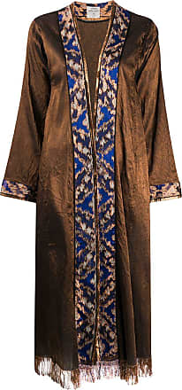Forte_Forte Precious jacquard coat - Brown