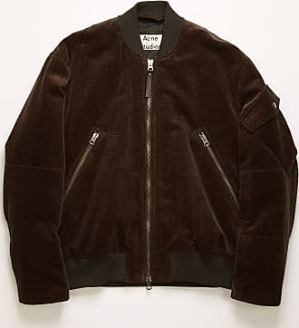Acne Studios FN-MN-OUTW000324 Coffee brown Corduroy bomber jacket